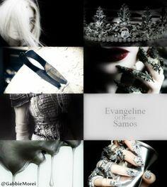 Evangeline Samos - Red Queen (Victoria Aveyard)