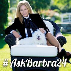 Embedded image permalink go to barbrastreisand on instagram to see question and answers