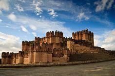 Castillo de Coca, Spain    Segovia #Spain