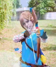 My The Legend of Zelda: Breath of the Wild cosplay :)  #link #gamer #cosplay
