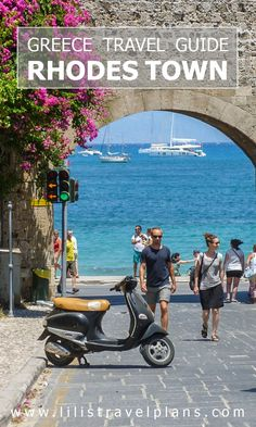 Getting lost in the cobbled maze of Rhodes Town, Greece