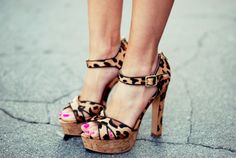 Darling leopard print shoes