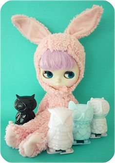 I need a bunny suit for my dolly