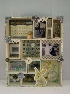 """Tim Holtz Configurations 5.5 x 5.5"""" TH92883 - Tim Holtz Idea-ology - Shadowboxes & Page Displays"""