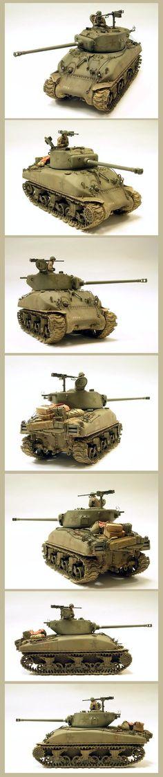 Sherman M4AI 76(W) 1/35 Scale Model