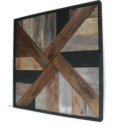Large Geometric Wall Art, Reclaimed Wood Wall Art, Rustic Wall Art, Barnwood Style Wall Art, Large Wood Wall Decor - All For Herbs And Plants Reclaimed Wood Projects, Reclaimed Wood Wall Art, Rustic Wood Walls, Rustic Frames, Rustic Wall Art, Wood Wall Decor, Wooden Wall Art, Diy Wall Art, Barn Wood