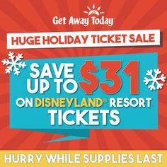 "PROMO CODE ""SIMPLE"" Disneyland Tickets, Disneyland Resort, Get Away Today, Ticket Sales, Coding, Simple, Holiday, Vacations, Holidays"