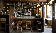 McCarthy's bar in Tipperary is a traditional pub with a quirky side; Irish Pub Interior, Irish Pub Decor, Italian Interior Design, Pub Design, Restaurant Design, Modern Restaurant, Pub Bar, Cafe Bar, Pub Sheds