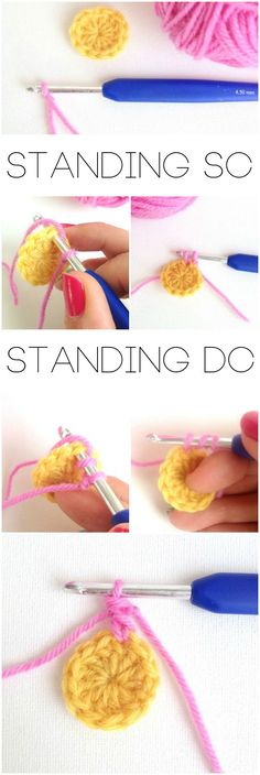 standing stitches crochet