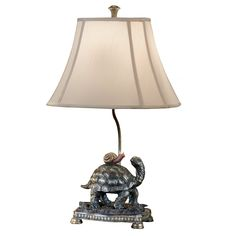 Shop for Wildwood Turtle And The Snail Lamp, and other Lamps and Lighting at Paul Schatz Furniture in Tigard & Eugene, OR. Tortoise Food, Sulcata Tortoise, Tortoise Care, Turtle Homes, Turtle Day, Russian Tortoise, Turtle Figurines, Tortoises, Decoration