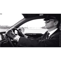 The Chauffeur!! I don't know if I should trust this guy, but I kind of want to hire him