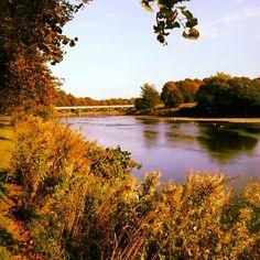 The river Ribble, Preston