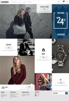 Favorido Shopping Club on Behance