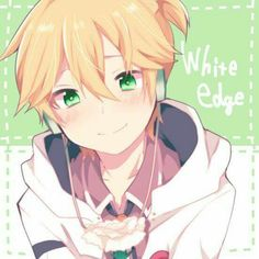White Edge Len ;3So adorable and love the art!