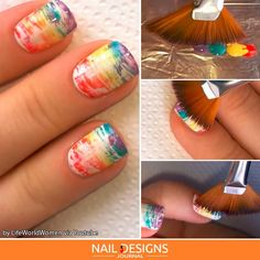 Types Of Nail Brushes & Tips On How To Use Them