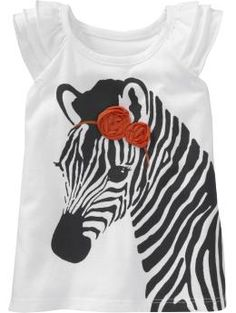 Rosette Graphic Tees for Baby