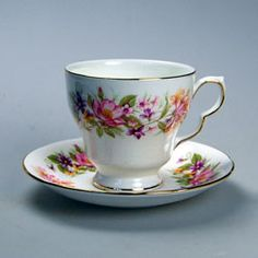 Colclough Wayside Tea Cup