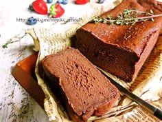 ♡チョコ好きさんに捧ぐ♡超簡単生チョコケーキ♡【#砂糖不使用#クリスマス#バレンタイン】 : Mizuki Bread Recipes, Cake, Banana Bread, Food And Drink, Sweets, Chocolate, Baking, Desserts, Molten Cake
