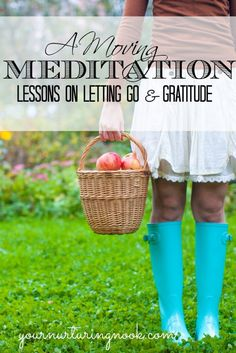 Everything can be a meditation in motion. A constant letting go and an exercise in counting your blessings. Everything we do in life can be turned into a meditation in motion. Washing…