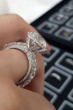 White Gold Engagement Rings To Conquer Your Love ★ See more: https://ohsoperfectproposal.com/white-gold-engagement-rings/ #engagementring #proposal #WhiteGoldJewellery