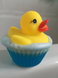 Floating rubber ducky soap  Duck soap  Kids soap  by BlueAndCherry