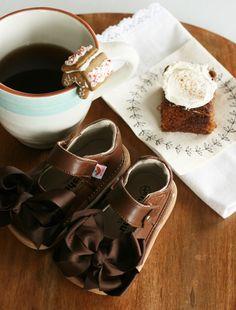9fa913e572a4 Chocolate Mooshu Trainers Mary Janes Squeaky Shoes