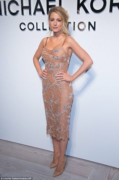 Blake Lively at the Michael Kors show