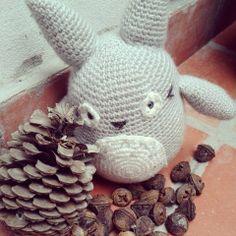 Totoro, Mi vecino Totoro, Miyazaki, ojosconbotones, crochet, amigurumis