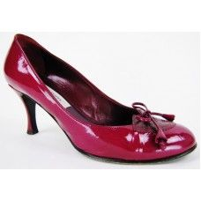 Marc Jacobs Dark Pink Patent Leather 'Moonlight' Pumps | Pre-Owned Marc Jacobs Pumps
