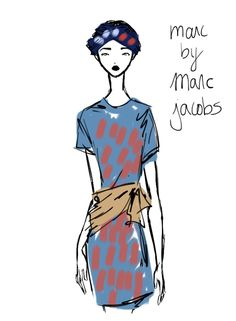 Marc by Marc Jacobs New York Womenswear S/S 2013 by Rei Nadal.