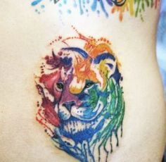 Nasze realizacje Studio Tatuażu, Watercolor Tattoo, Tatoos, Watercolor Tattoos, Water Color Tattoos