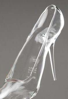 glass shoes to wear in the castle.