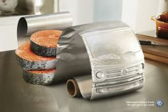 Volkswagen Delivery Trucks: Salmon(Volkswagen Delivery Trucks. The right size for your needs.)