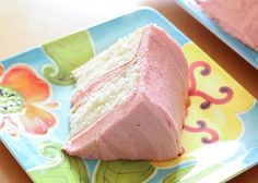The Best Gluten Free White Cake Recipe - Tender, moist and yet dense enough not to crumble. Yummy!!!