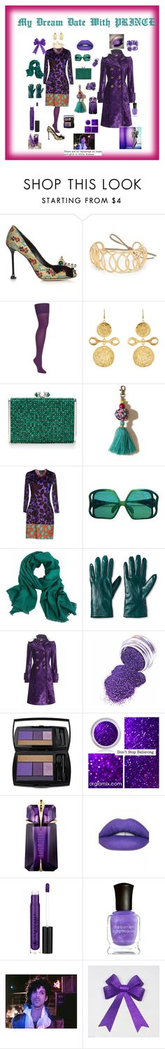 """""""Dream Date With Prince"""" by giagiagia ❤ liked on Polyvore featuring Miu Miu, Loewe, Kenneth Jay Lane, Judith Leiber, Hollister Co., Just Cavalli, Christian Dior, Merona, Lancôme and Thierry Mugler"""
