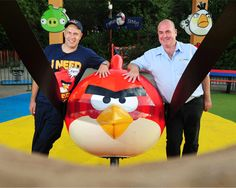 UK's first Angry Bird-themed land opens at kids' theme park Angry Birds, Attraction, Nerd, City, Otaku, Cities, Geek