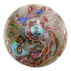 (2655) Paperweight P. Bigaglia-L. MORETTI, Murano-Venezia, 1888/1894. | eBay Yellow Art, Bunch Of Flowers, Paper Weights, Victorian Era, Mosaic Glass, Glass Beads, Christmas Bulbs, Perfume Bottles, Art Deco