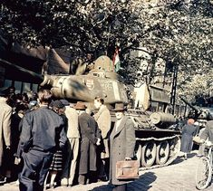 Budapest 1956 Prague, World Of Tanks, Budapest Hungary, War Machine, World War Two, Old Pictures, Historical Photos, Mount Rushmore, Revolution