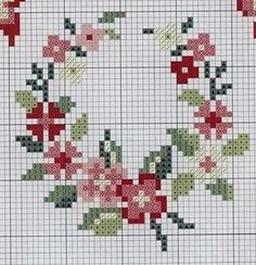 "Discover thousands of images about Gallery.ru / Foto n º 25 - KWIATY 4 - aaadelayda"", ""rose wreath cross stitch"", ""Red Floral Wreath"", ""mini coronery"", ""Flower ring"" ] # # # # # # # # # # Mini Cross Stitch, Cross Stitch Rose, Cross Stitch Borders, Cross Stitch Flowers, Cross Stitch Charts, Cross Stitch Designs, Cross Stitching, Cross Stitch Patterns, Blackwork Embroidery"