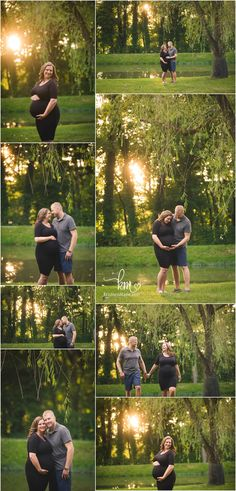 Indianapolis maternity photography at sunset - beautiful! - maternity sunset pictures