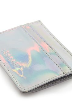 Reason Holographic Card Holder | FOREVER21