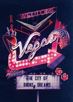 Neon Neon City Posters / I Love Dust