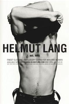 Helmut Lang S/S 2001 campaign, by Inez van Lamsweerde and Vinoodh Matadin