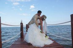 Destination Wedding at Azul Sensatori! Destination wedding in Mexico in the Riviera Maya! VIP Destination wedding couple!