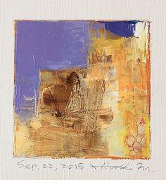 Hiroshi Matsumoto oil on canvas
