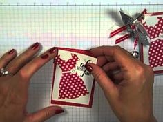 ▶ Simply Simple FLASH CARDS - Luggage Tags by Connie Stewart - YouTube#t=456