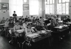 Photo de classe FE 2 école POINCARÉ THIONVILLE de 1967, Ecole Poincare (thionville)