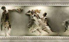 Cómo se verían los murales griegos si fueran reales