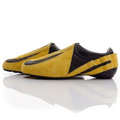 Ray Sneaker Black Lemon now featured on Fab.