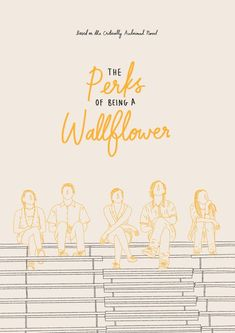 film poster design The Perks of Being a Wallflower Movie Poster Print Iconic Movie Posters, Minimal Movie Posters, Movie Poster Art, New Poster, Poster Wall, Poster Prints, Play Poster, Retro Posters, Western Film